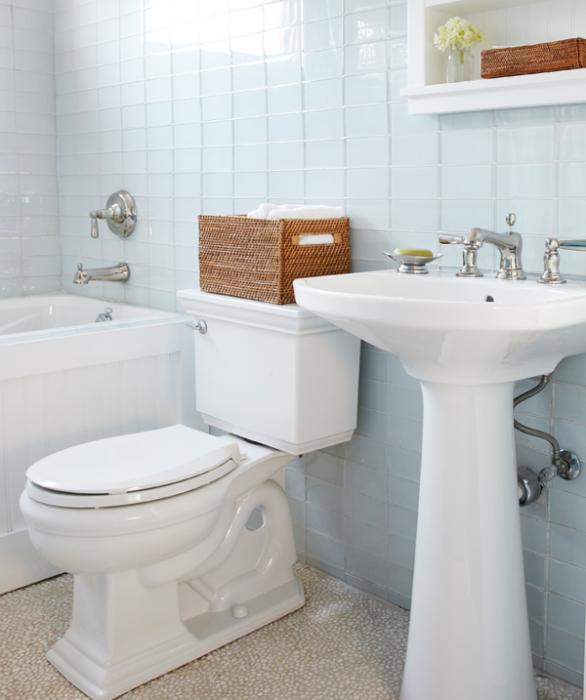 Стены в ванной (плитка) - 4