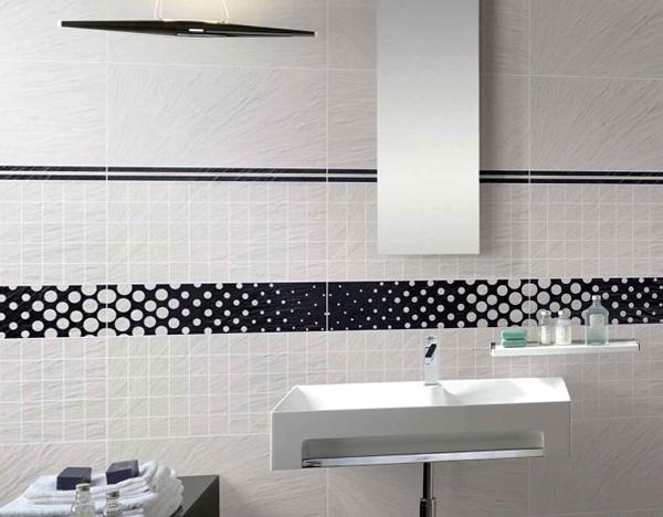 Стены в ванной (плитка) - 5