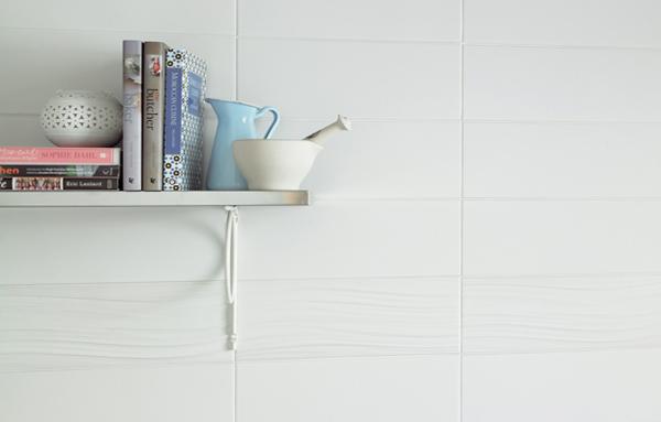 Плитка белого цвета в интерьере - 5