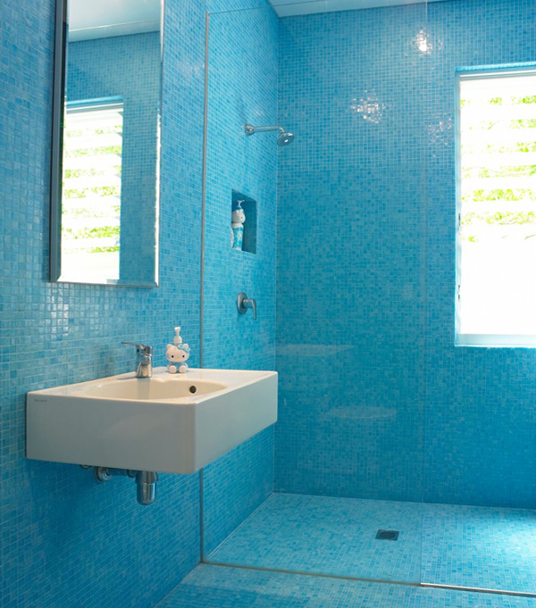 Плитка голубого цвета - 1