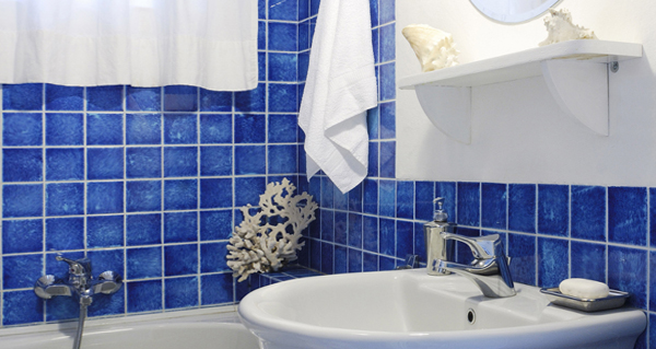 Плитка голубого цвета - 2