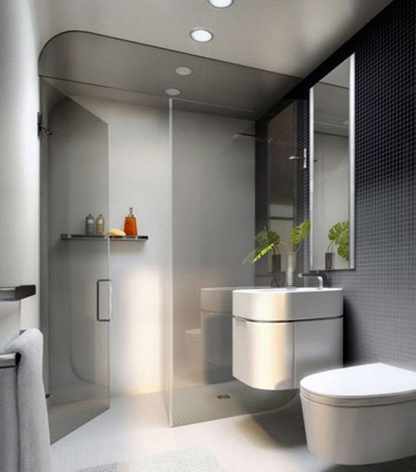 Плитка для маленькой ванной - 4