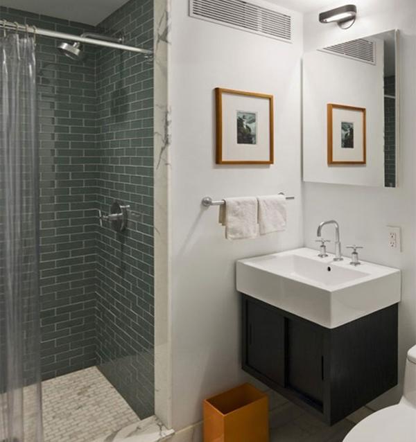 Отделка плиткой маленькой ванны - 3