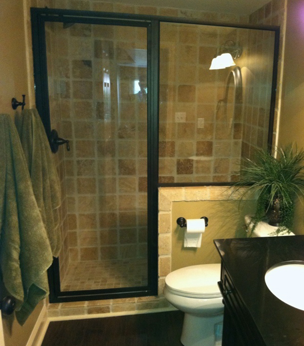Small bath tile trim - 4