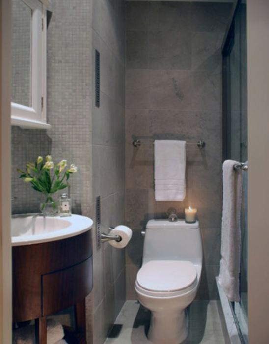 Отделка плиткой маленькой ванны - 5