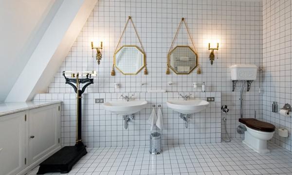 Плитка для ванной в частном доме - 1