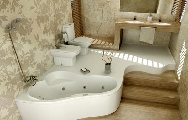 Плитка для ванной в частном доме - 5