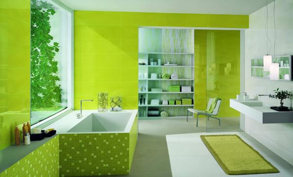 Зеленая плитка - 2