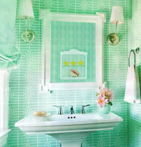 Зеленая плитка - 4