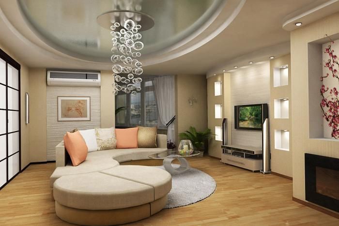 Дизайн квартиры зал 18 кв м