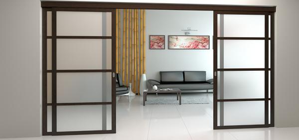 Раздвижные двери (деревянные) – 1