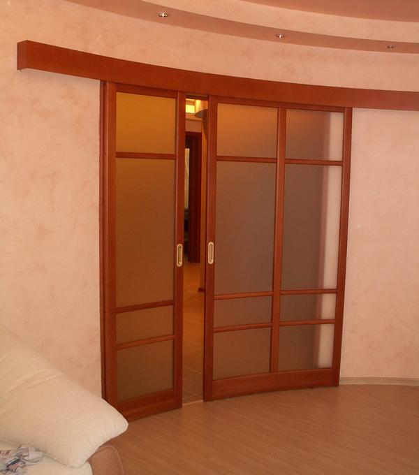 Раздвижные двери (радиусные) – 2