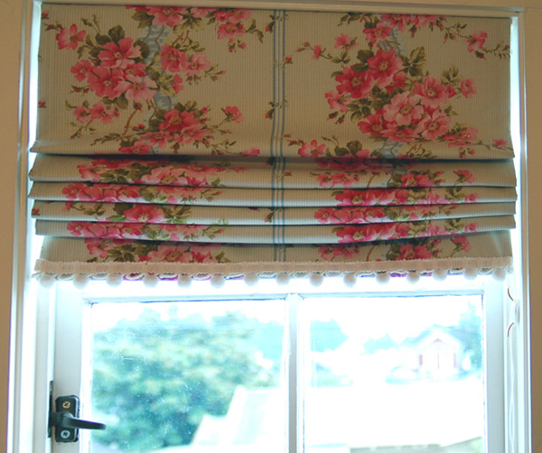 каскадные шторы - 2