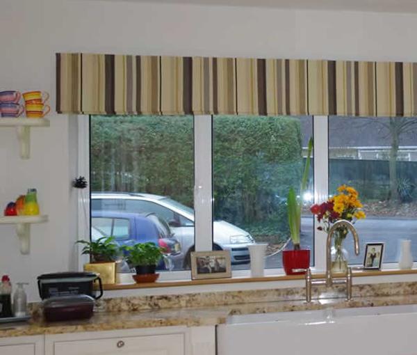 римские шторы для кухни - 1