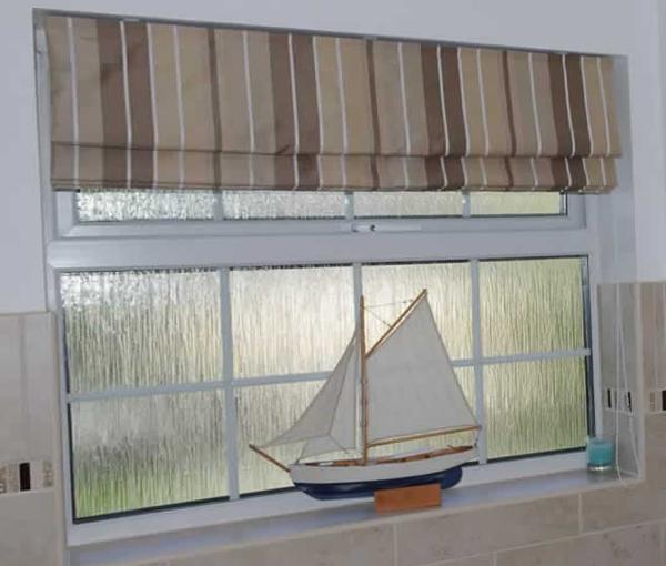 римские шторы в морском стиле - 1