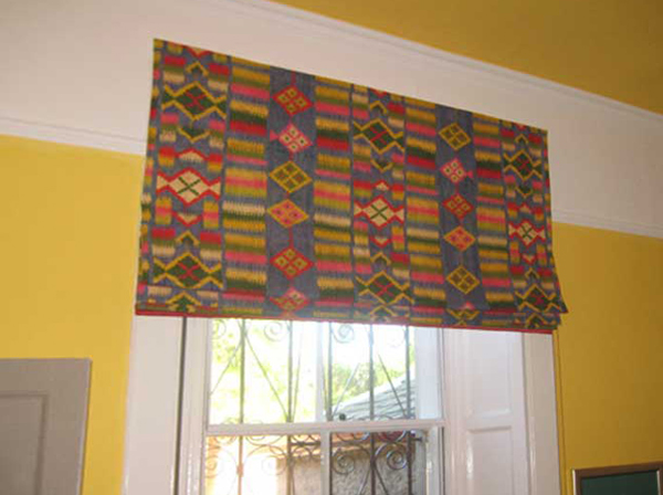 бескаркасные римские шторы - 3