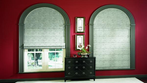 римские шторы в колониальном стиле - 4