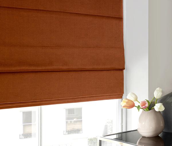 римские шторы для спальни - 2