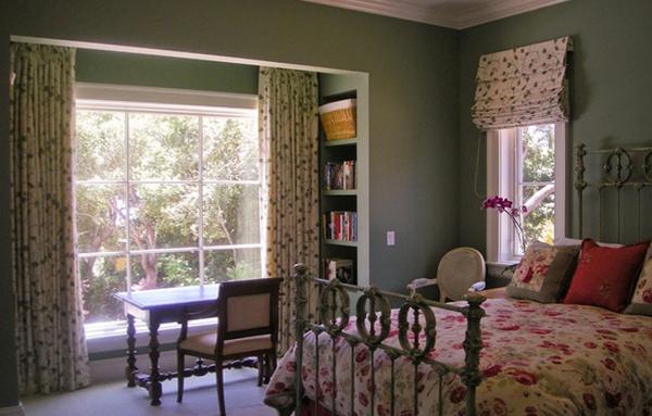 римские шторы для спальни - 4