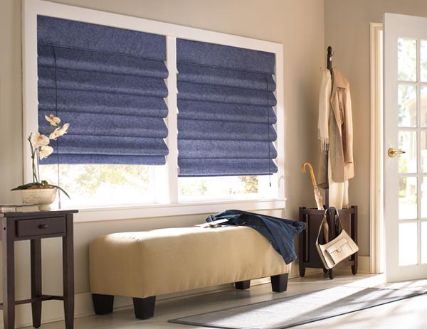 римские шторы для спальни - 6