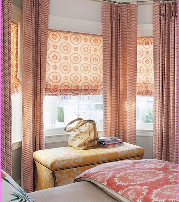 хлопковые римские шторы - 7