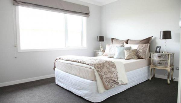 фото римских штор в спальню - 1