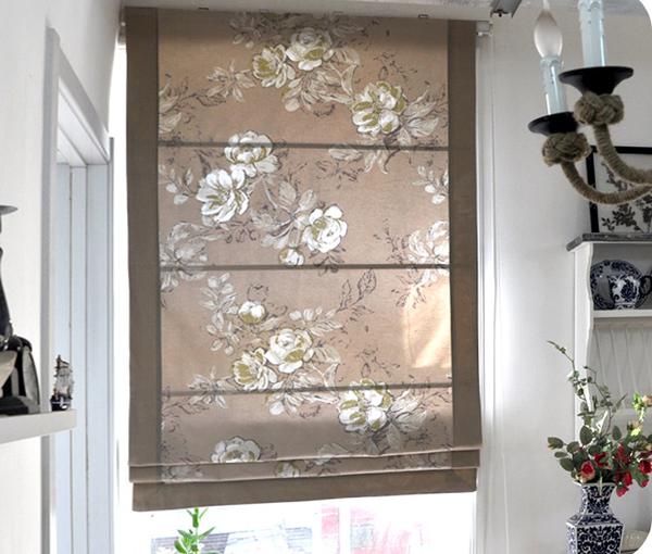фото римских штор в кухню - 1