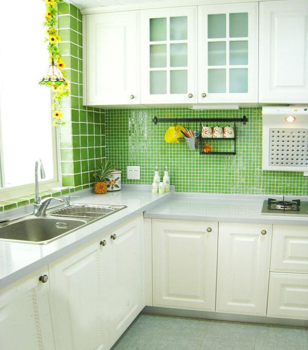 Плитка в интерьере кухни (укладка «шов в шов») - 1