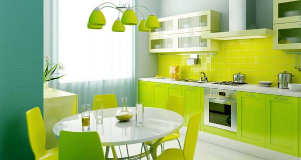 Плитка в интерьере кухни (укладка «шов в шов») - 3