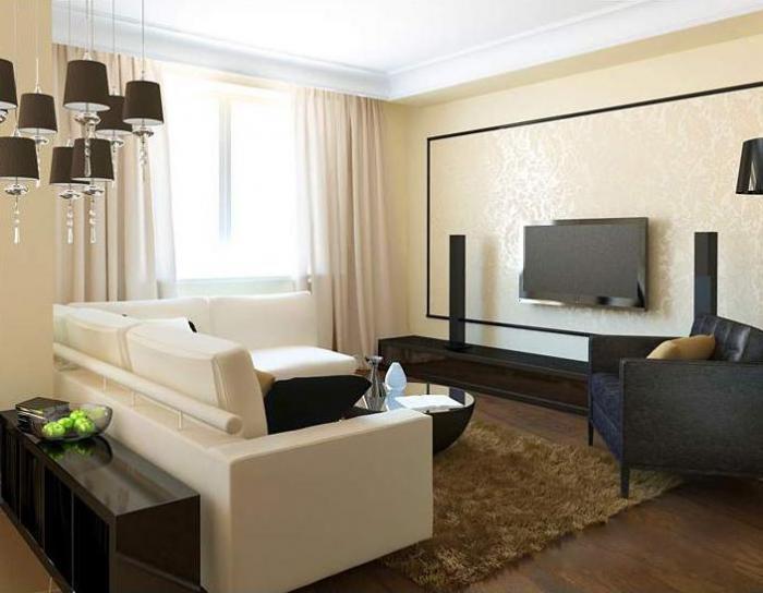 Фото модных штор для гостиной
