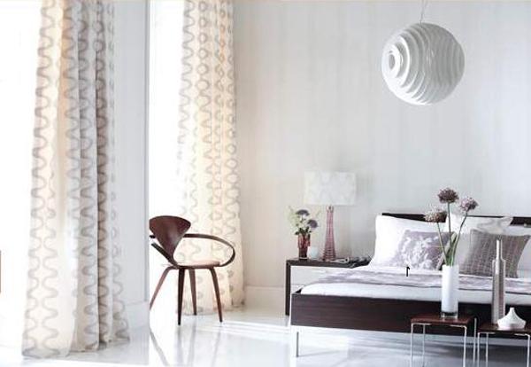 Фото штор в гостиную в стиле минимализм