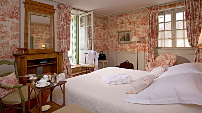 Фото штор для спальни в стиле прованс