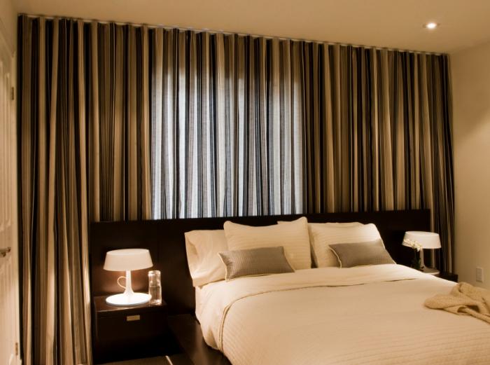 Фото штор в спальню 3