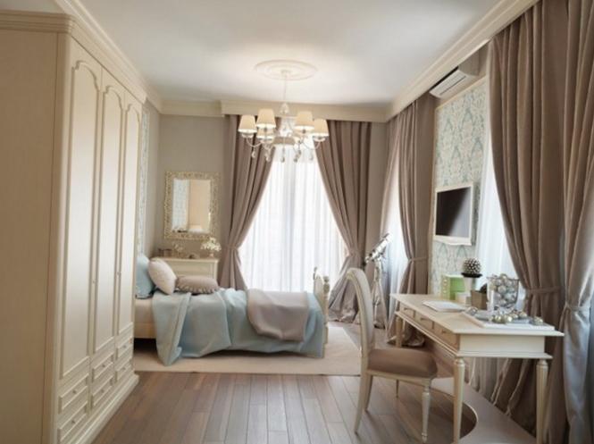 Шторы для спальни должны нести комфорт фото 2