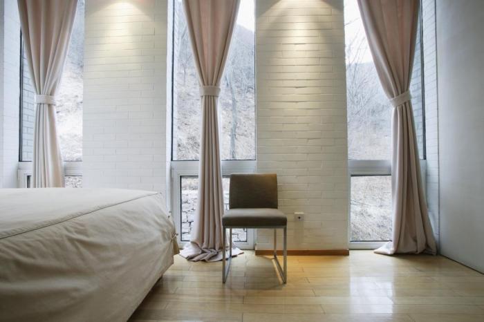 Шторы для спальни должны нести комфорт фото 3
