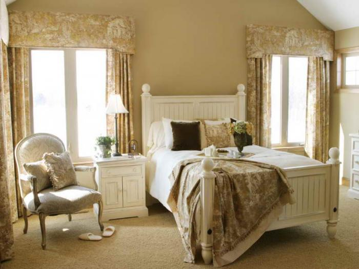 Шторы для спальни должны нести комфорт фото 5