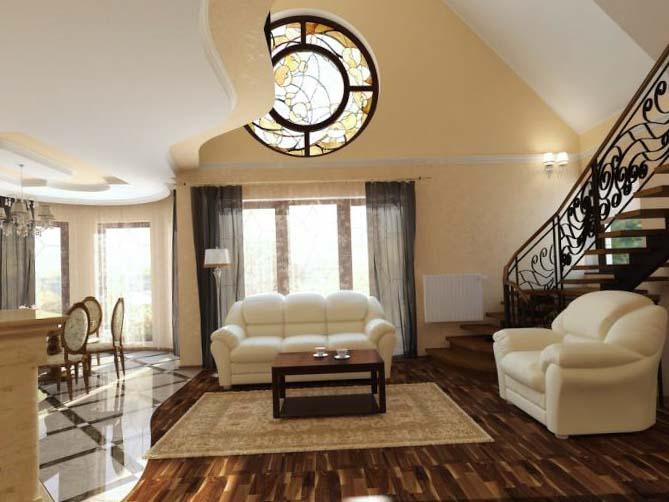 Шторы в зал - 100 фото дизайна штор для зала в квартире