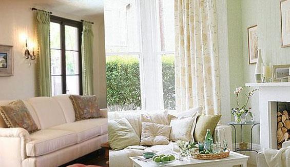 Фото современных штор для зала