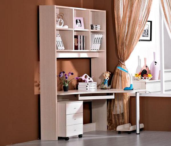 Угловой компьютерный стол - 50 фото угловых письменных столо.