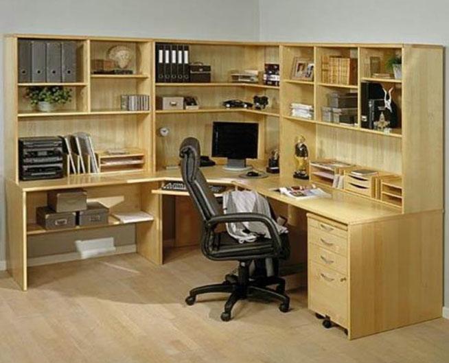Фото угловых компьютерных столов 2