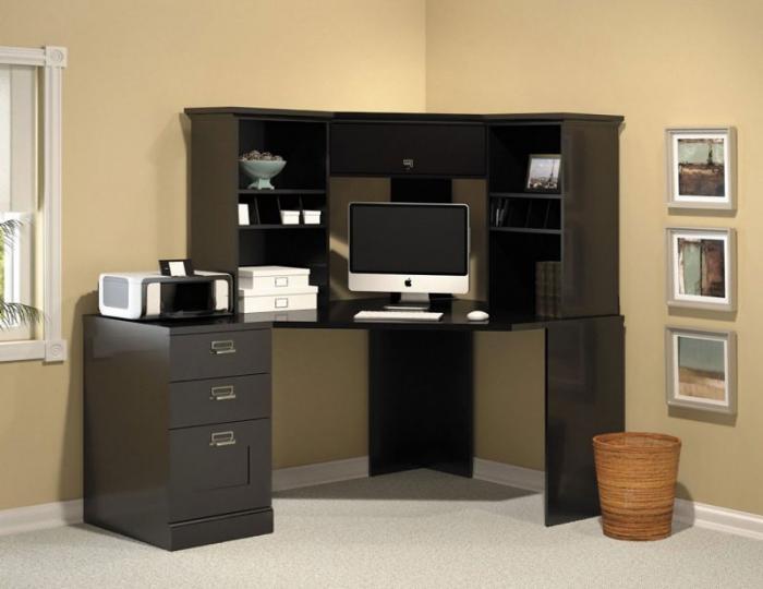 Письменный стол с надстройкой 2