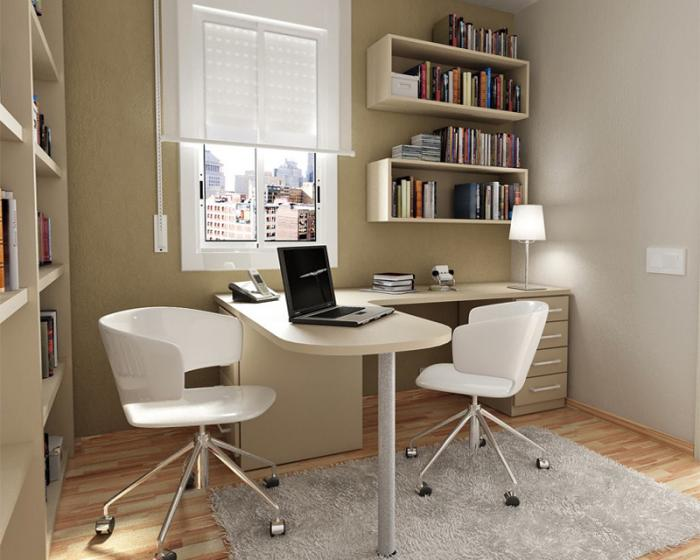 Письменный стол с полками 2