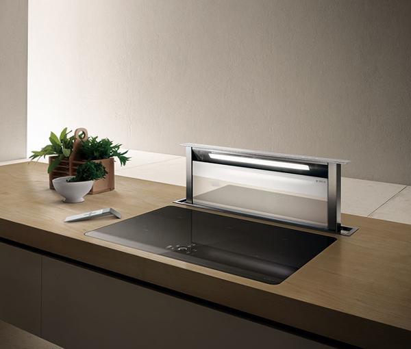 Встроенная вытяжка для кухни - 5