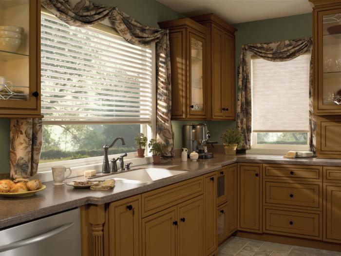Дизайн жалюзей на кухню - фото 2
