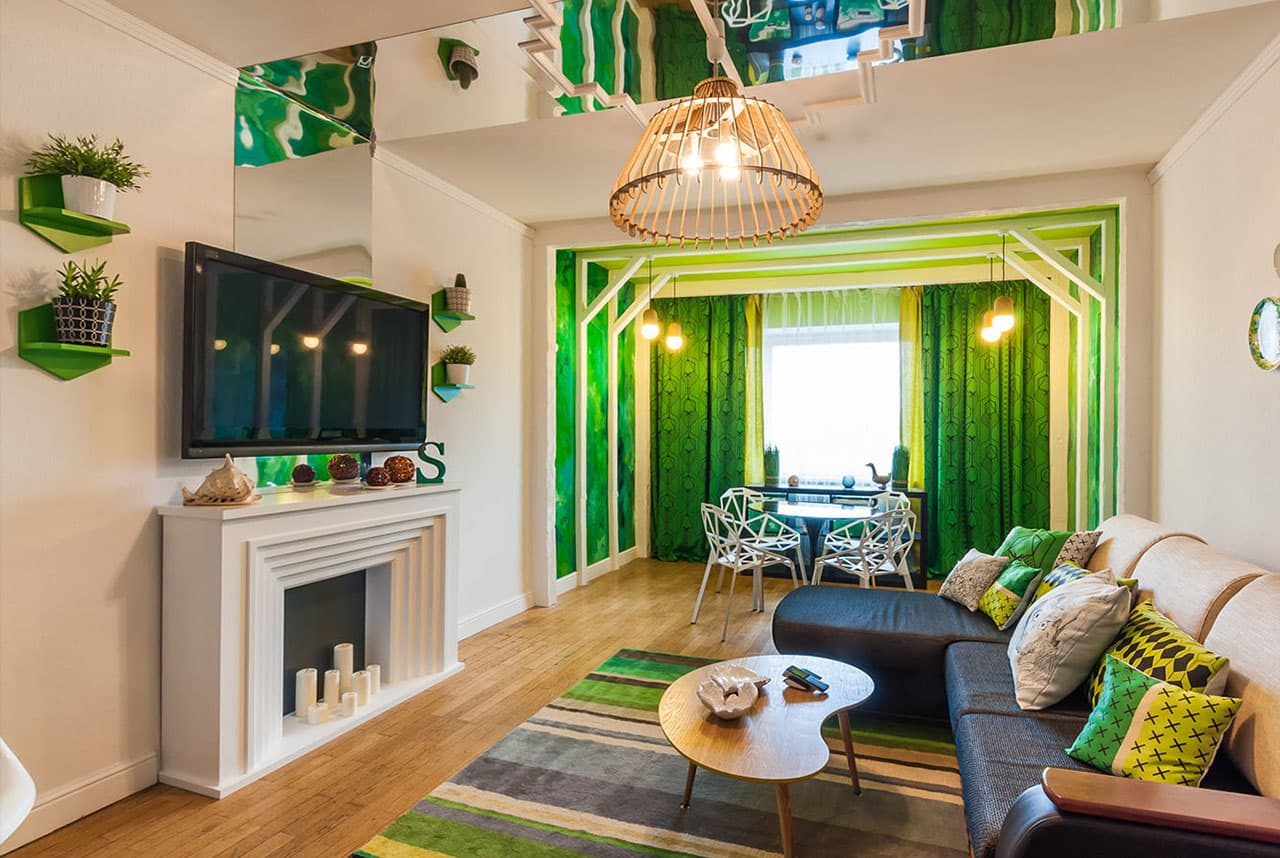 фото в зеленом стиле любой другой