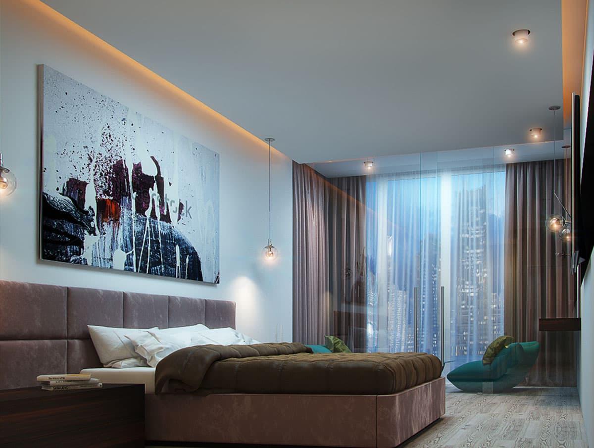 орбакайте одна парящие натяжные потолки фото для спальни владельцев