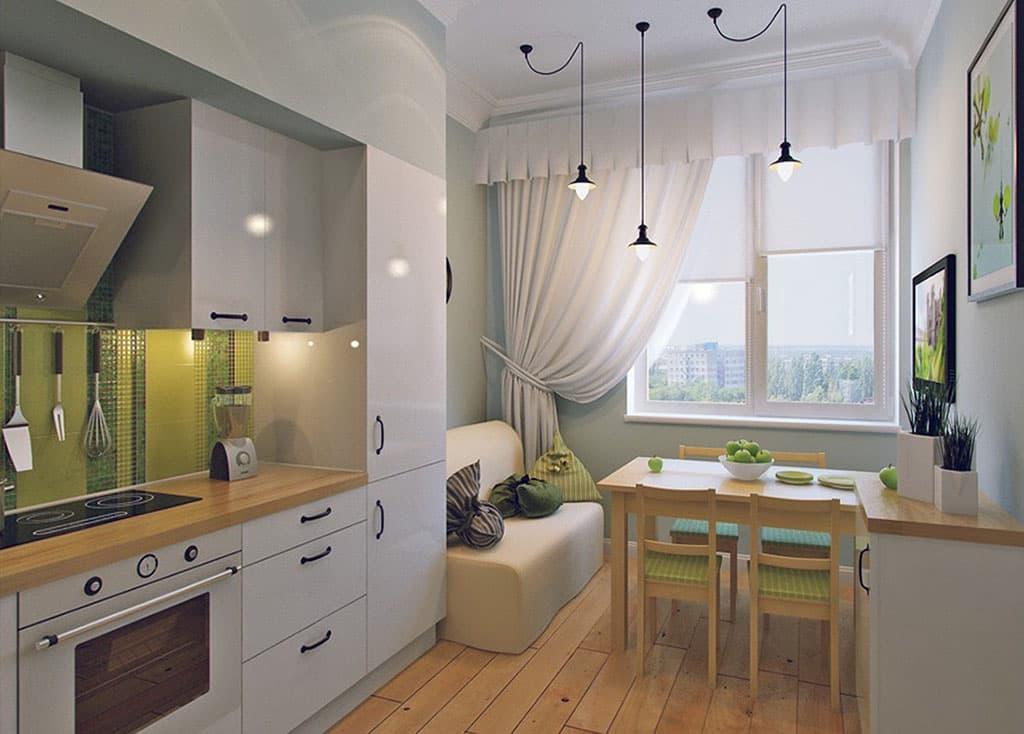 Дизайн кухни 12 кв.м с диваном фото 2016 современные идеи