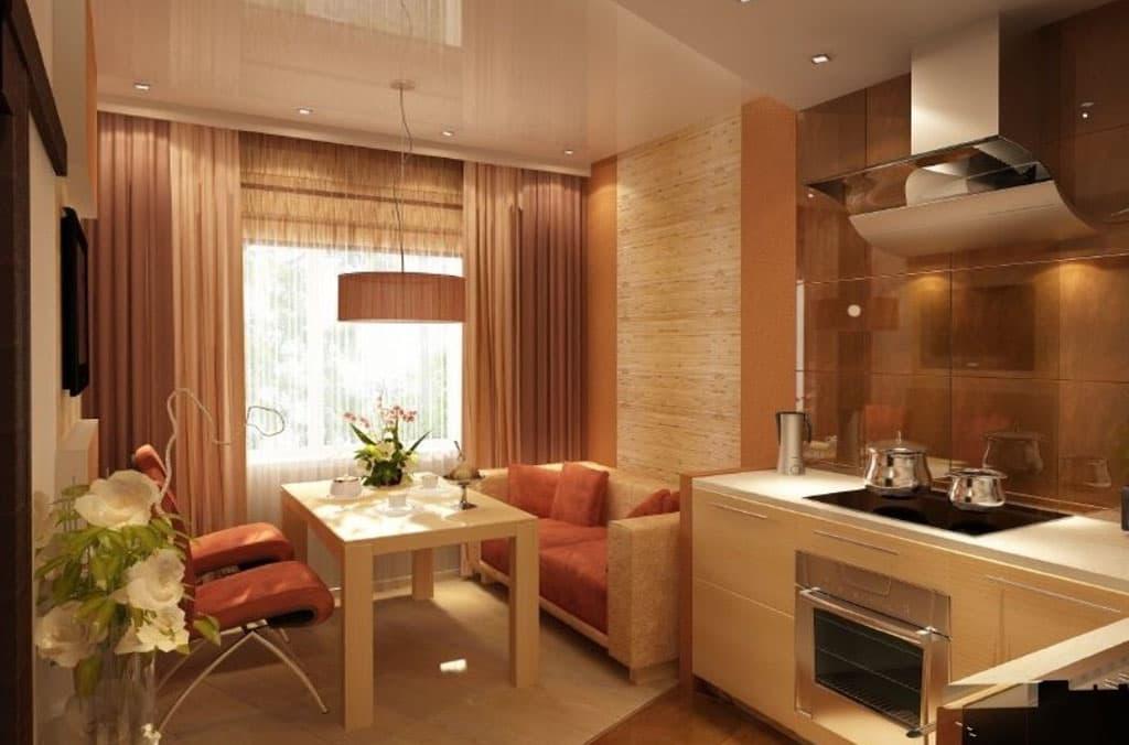 Кухня гостиная 12 кв метров идеи для кухни интерьеры фото
