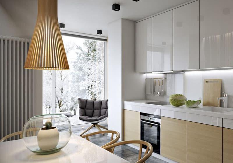 Дизайн кухни 9 метров 2017 современные идеи