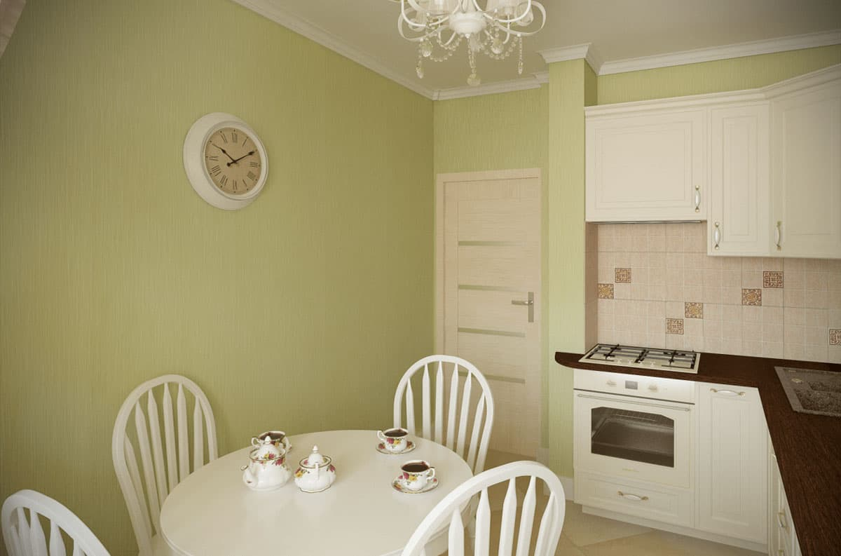 Дизайн вытянутой кухни 12 кв.м
